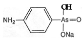 Figure 4.  Atoxyl (sodium salt of p-aminophenyl-arsonic acid)