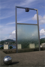 Memorial at the Minamata Disease Municipal Museum